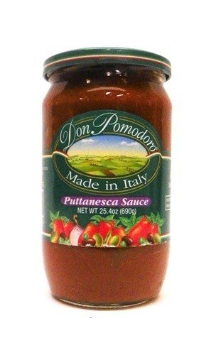 Don Pomodoro Puttanesca Sauce 25.4 oz (Pack of 4)
