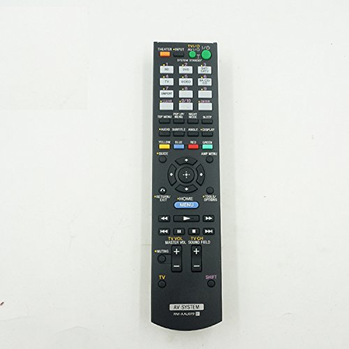 General Replacement Remote Control for Sony Str-dh830 Rm-aau113 Rm-aau072 148761211 DVD Home Theater Av A/v Receiver (Sony Strdh830)