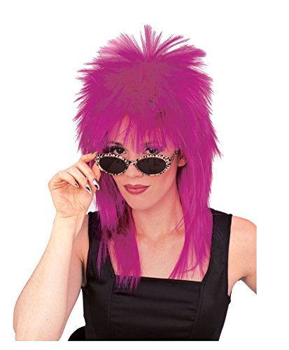 50724/70 Purple Super Star Wig Dive Tina Turner