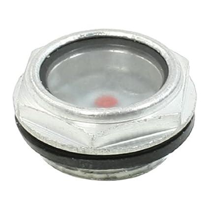 eDealMax compresor de aire piezas de 27 mm Rosca del nivel de aceite Mirilla - - Amazon.com