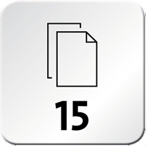 Novus Schreibtisch Set | 1x Petrol 1x gr/ün Heftger/ät E 15 mit Locher E 210