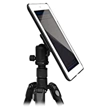 G8 Pro® iPad Air 2 Tripod Mount Adapter Holder with 1/4-20 Thread Camera Connector - For Use with ANY Standard Camera Tripod, Suction Stand, Flexible Tripod, Mono-pod or Mic-stand You Already Use *Compatible with Apple iPad Air (2) 2nd Gen. Only* (G8PRO-AIR2)