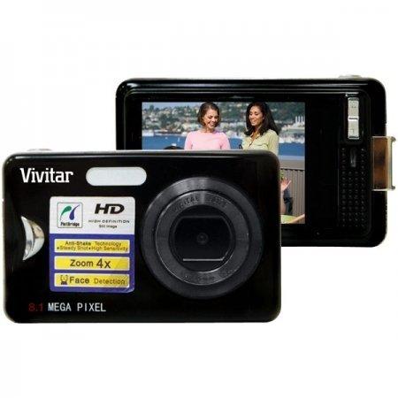 Vivitar V8025 8.1MP HD Super-slim Digital Camera with 2.4-In