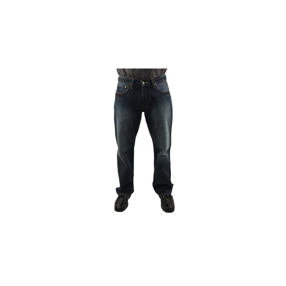 Lucky Brand Mens 221 Slim Straight Denim Jeans 34 X 32