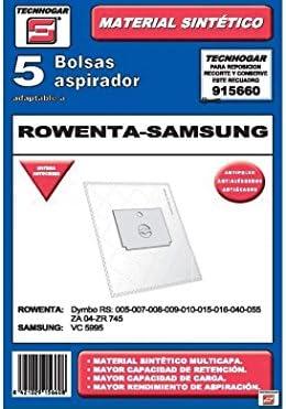 ERSA 915660 Bolsa aspirador, Blanco: Amazon.es: Hogar