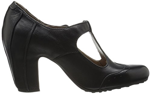 Negro Mujer Vertical Tira Acer138fly para con Tacon London Black y Fly Zapatos zOqxRwCv
