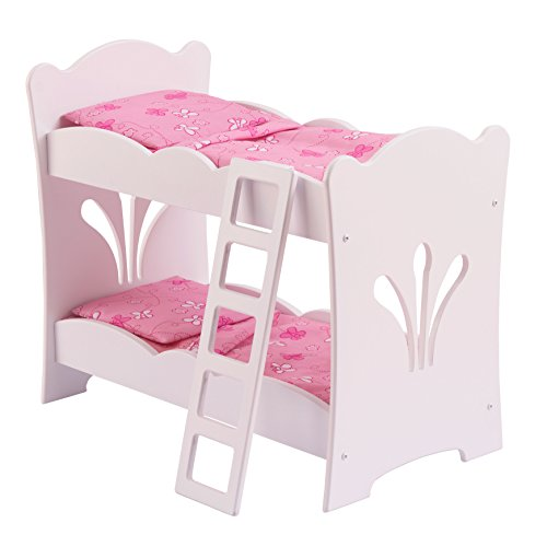 KidKraft Little Doll Bunk Bed (For Bed Dolls)