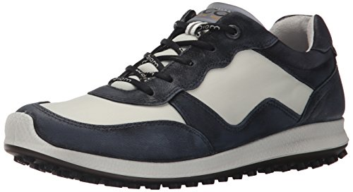 ECCO Women's Biom Hybrid 2 Lite Golf Shoe, Black/Shadow White, 39 EU/8-8.5 M US by ECCO