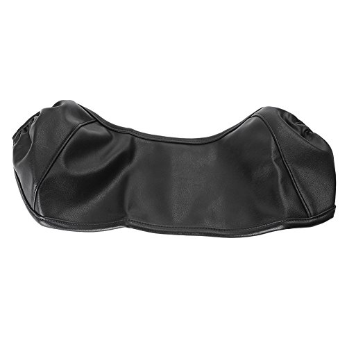 GZYF Black Vinyl Gas Fuel Tank Bra Shield Sheet Cover for Harley Touring and Trike 1997-2017