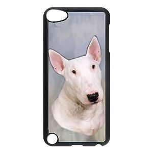 Custom Bull Terrier Dog Hard Case Clip on Back Cover for Ipod touch5