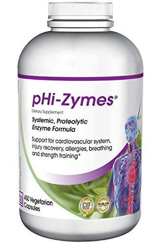 Cheap Baseline Nutritionals pHi-Zymes (Systemic Proteolytic Enzymes) 450 count for Inflammation Support, Cardiovascular Health