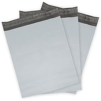 "Poly Mailers Envelopes Shipping Bags Self Sealing, 100 Bags,10""x13"" (White)"