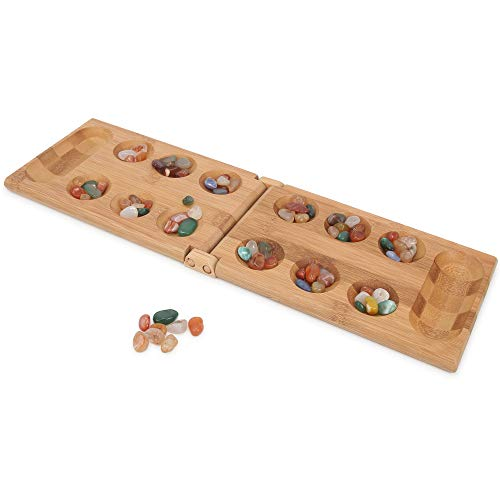 Mancala Game Folding Mancala Board Game Travel Game African Stone Game