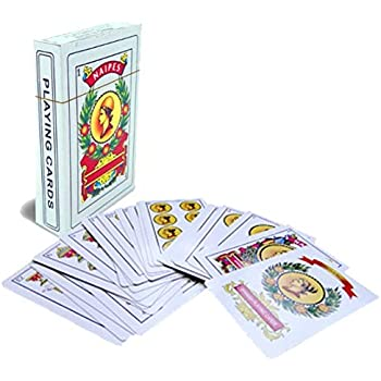 Amazon.com: Fournier Spanish Playing Cards Double Face ...