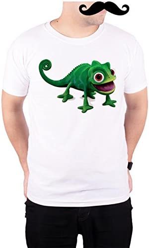 1e98be371 Mooch Wale Tangled Chameleon Pascal White Poly Cotton T-Shirt for Men:  Amazon.in: Clothing & Accessories