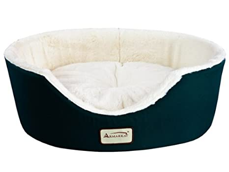 Armarkat Cat Bed C01HKF/MH Mocha and Beige AeroMark International Inc. ARMARKAT-C01HKF/MH