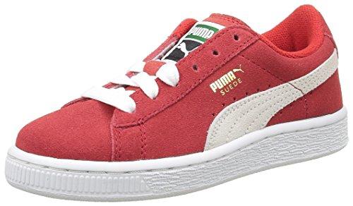 Puma 360757 - Zapatillas de deporte para niños Rojo - Rouge (High Risk Red/White)