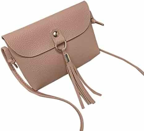 Women Favorate Bags,Pocciol Womens Shoulder Bag Messenger Satchel Tote Hit Color Crossbody Bag Vintage Classical Desgin