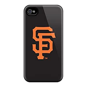 High Quality Mobile Cases For Iphone 4/4s With Allow Personal Design High Resolution Baseball San Francisco Giants 3 Series ColtonMorrill