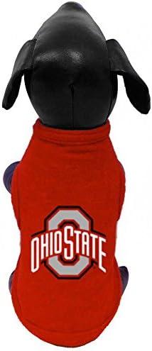 Large NCAA Southern Jaguars Sleeveless Polar Fleece Dog Sweatshirt
