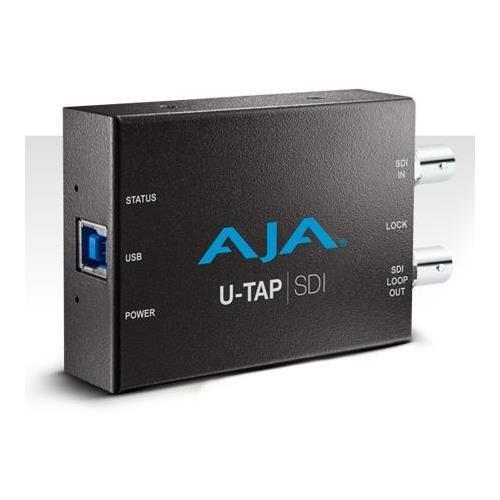 Aja Sdi Converter (AJA U-TAP SDI Simple USB 3.0 Powered SDI Capture Device)
