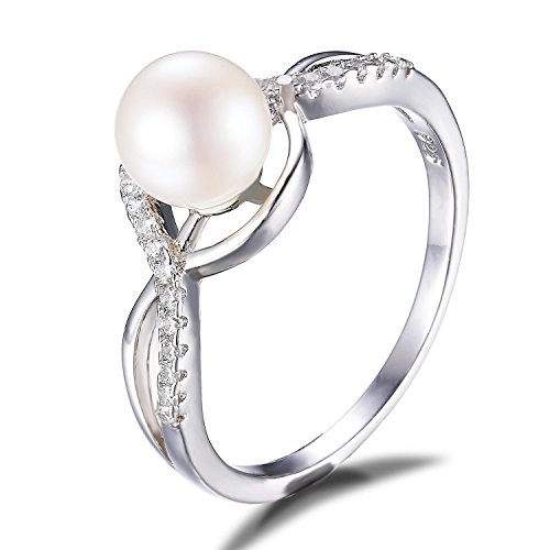 JewelryPalace Freshwater Cultured Infinity Sterling product image