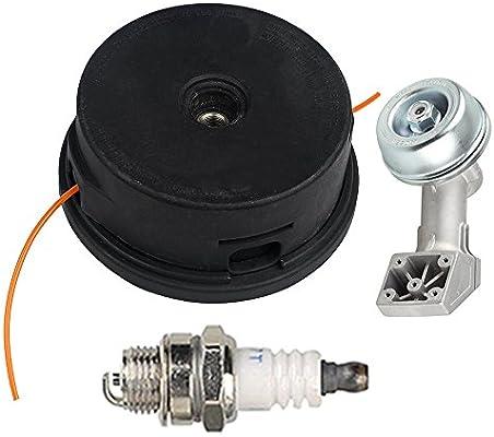 Hilom Trimmer Head with Gear Box Head Housing for Stihl Auto Cut Go 25-2 Brushcutter FS45 FS48 FS50 FS51 FS55 FS60 FS74 FS76 FS80 FS83 FS85 FS90 FS100 ...