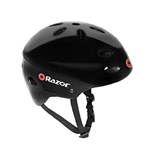 Razor V-17 Child Multi-Sport Helmet, Black Gloss