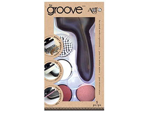 Cordless Groove Art Tool with Interchangeable Tips - Pack of 12 by bulk buys