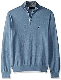 Men's Long Sleeve 1/4 Zip Sweater