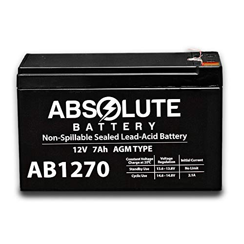 New AB1270 12V 7AH SLA Battery Replacement Rastar Land Rover Evoque