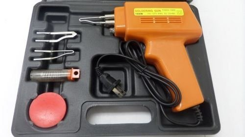 New 5pc 100w Soldering Gun Kit W/case Iron Solder Professional Style Sodering by  (Image #2)