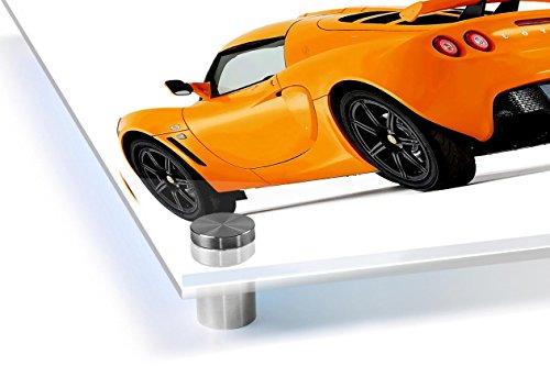 Speed Demons LOTUS Orange Metal Valve Dust Caps for all models Cars