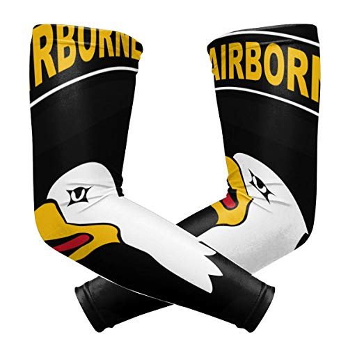 U.S. Army 101st Airborne Outdoor Travel Arm Warmer Long Sleeves Glove
