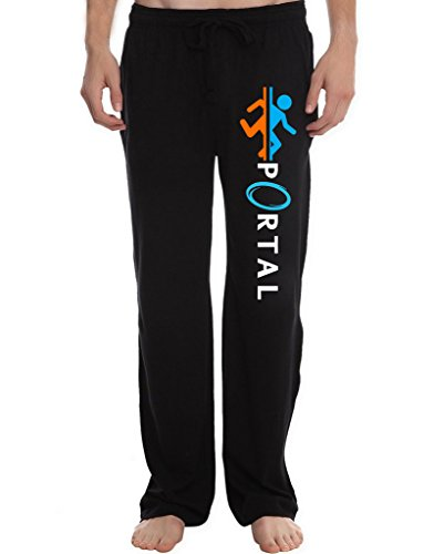 Games Cabrera Miguel (XJX Men's Portal Game Logo Lounge Pajama Pants)