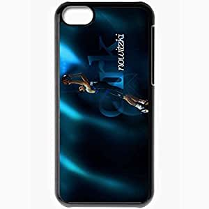 Personalized iPhone 5C Cell phone Case/Cover Skin 14987 Dirk Nowitzki by loadinhq Black