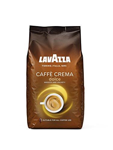Lavazza Caffè Crema Dolce Kaffeebohnen, (1 x 1kg)