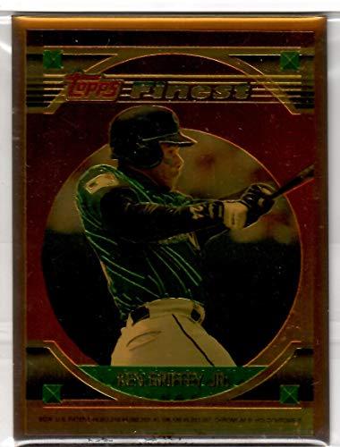 1994 Topps Finest Baseball Ken Griffey Jr. Bronze Metal Card 2 of 3 (Card Topps Bronze)