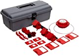 Brady Breaker Lockout Toolbox Kit, Padlocks and Tags Not Included