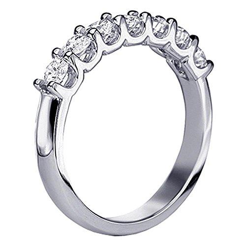 1.00 CT TW U-Prong Diamond Ann