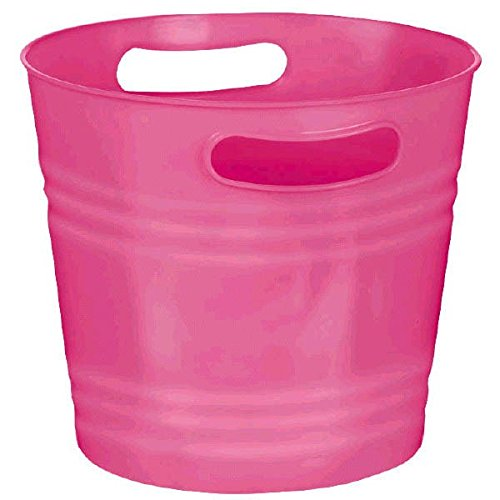 Bright Pink Plastic Ice -