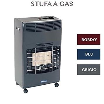 Estufa a Gas infrarrojos con 3 niveles potencia 4100 W Profesional gris: Amazon.es: Hogar
