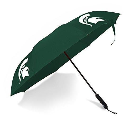 (Betta Brella NCAA Michigan State Spartans Better Brella Wind-Proof Umbrella)