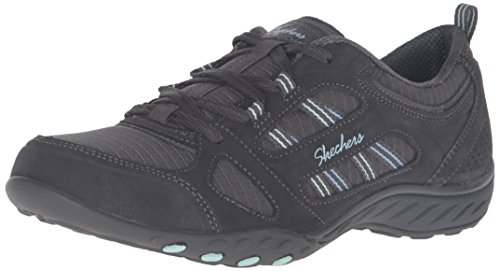 Sneakers Women's Ccl Good Top Easy Low Grey Skechers Luck Breathe wI0STS