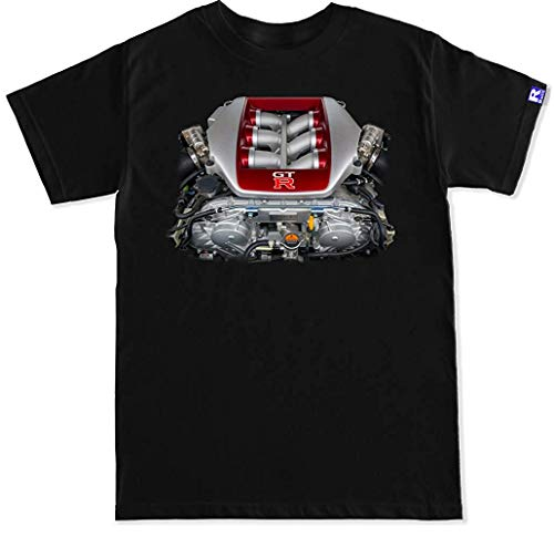 Used, MEIM Men's GTR R35 Engine T Shirt for sale  Delivered anywhere in USA