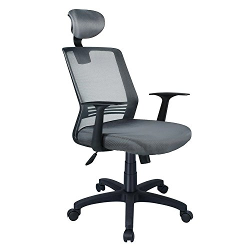 High Back Mesh Office Chair, Ergonomic Backrest Desk Chair with Adjustable Lumbar Support and Headrest, Swivel Computer Chair, EZCHEER Home Office Task Chair by Ezcheer