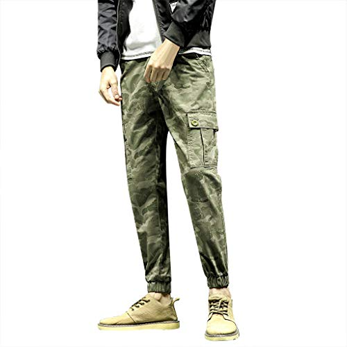 - Pant Clearance Sale Mens Camo Cargo Pants,Summer New Leisure Camouflage Overalls Trousers Trend Dungarees Pants