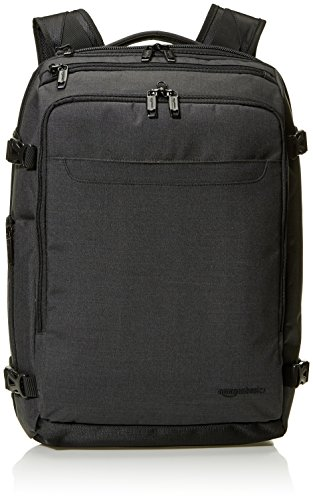 AmazonBasics Slim Carry On Laptop Travel Weekender Backpack - Black from AmazonBasics