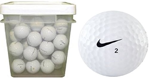 Nike One Assorted Recycled Golf Balls (100-Ball Bucket) by NIKE