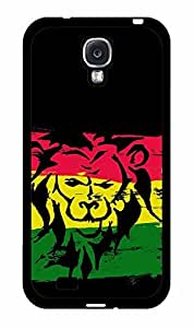 Lion on Rasta Flag 2-Piece Dual Layer Phone Case Back Cover iPhone 4 4s